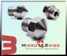 Micro Swiss Plated Wear Resistant Nozzle MK10 for All Metal Hotend ONLY